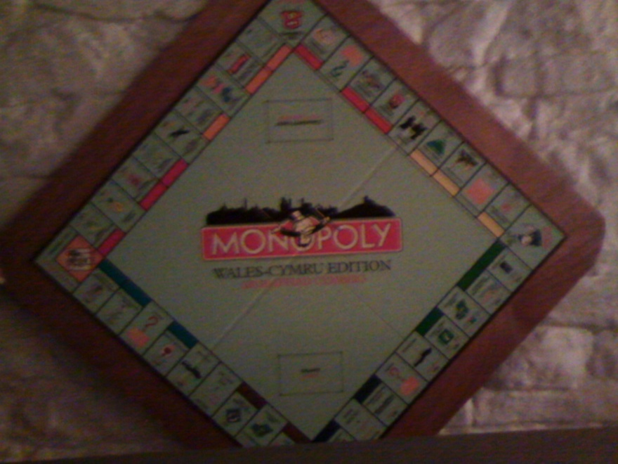 048 W Brecon Beacons Monopoly Wales Version