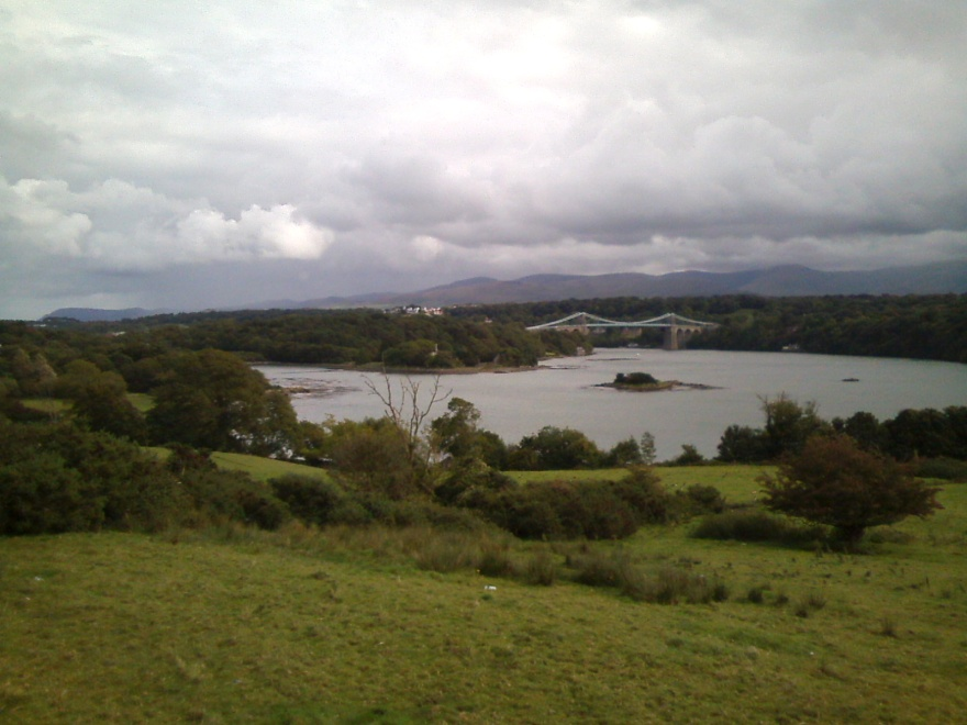 120 W menai bridge and straits